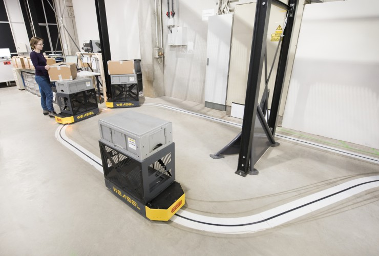 Automated Guided Vehicle Weasel®