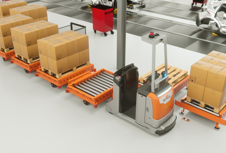 Still LiftRunner® with automatic loading/ unloading & LTX 50
